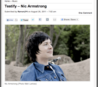Testify - Nic Armstrong